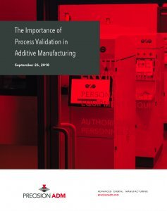 The Importance of Process Validation in Additive Manufacturing