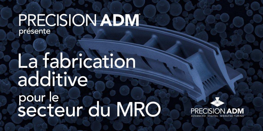 Webinaire: La fabrication additivé métallique pour le secteur de la maintenance, réparation et de mise-à-niveau (MRO) @ Online Webinar