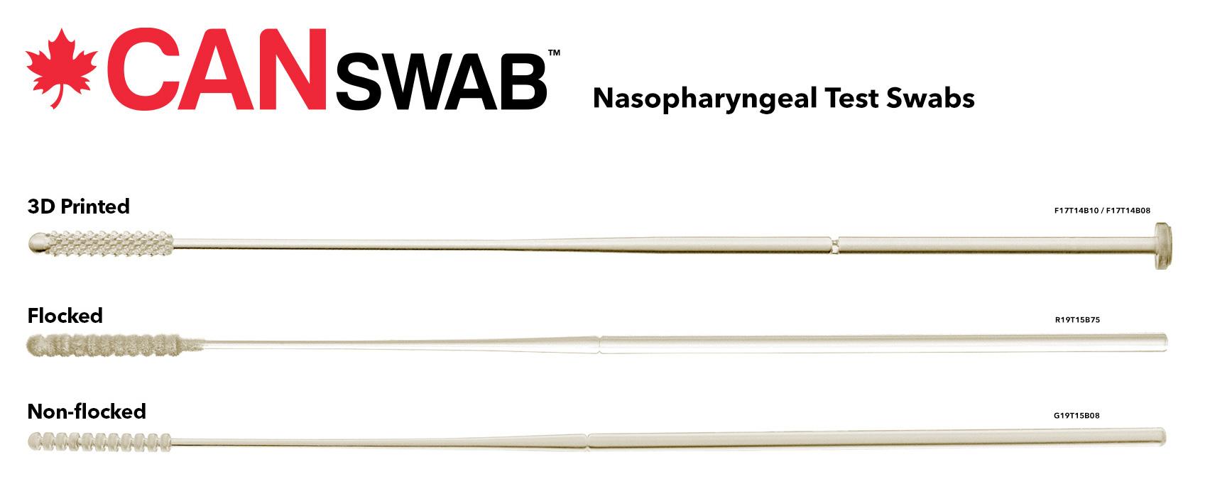 CANSWAB Nasopharyngeal Test Swabs